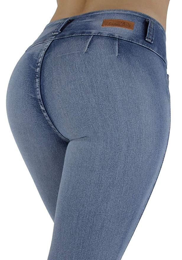 Fashion2Love High Waist Jeans