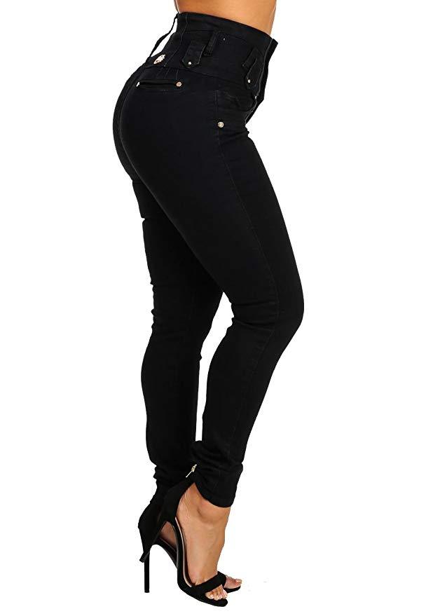 ModaXpressOnline Butt Lifting Denim Jeans