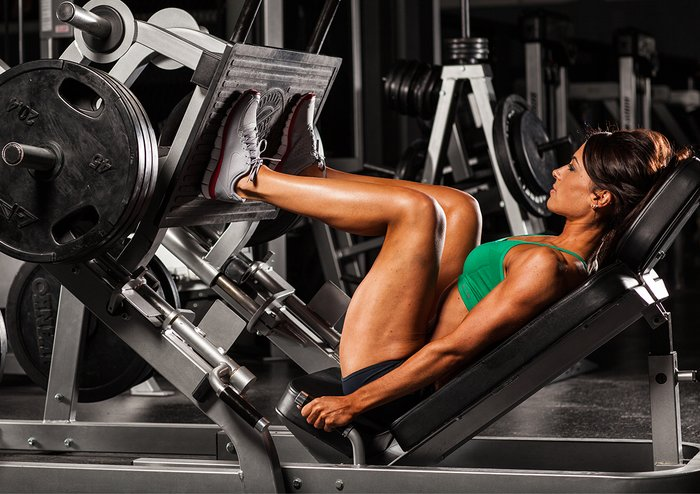 Squat Leg Press Machine