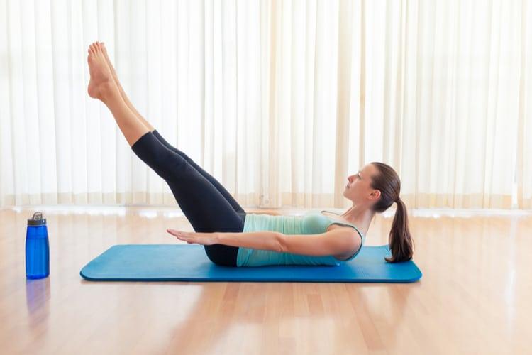 Saddlebag Slimmer Exercise