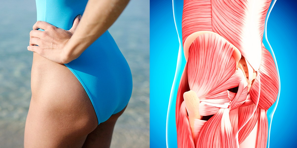 Loosen Tight Buttock Muscles