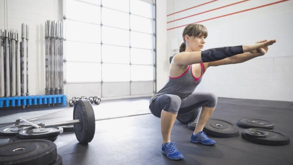 Classic Squats Exercise