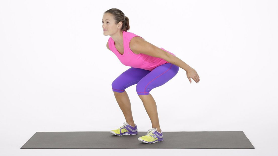 Jumping Squats exercise