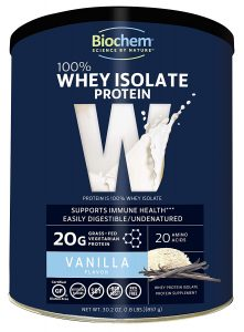 Biochem 100% Whey Isolate Protein Powder