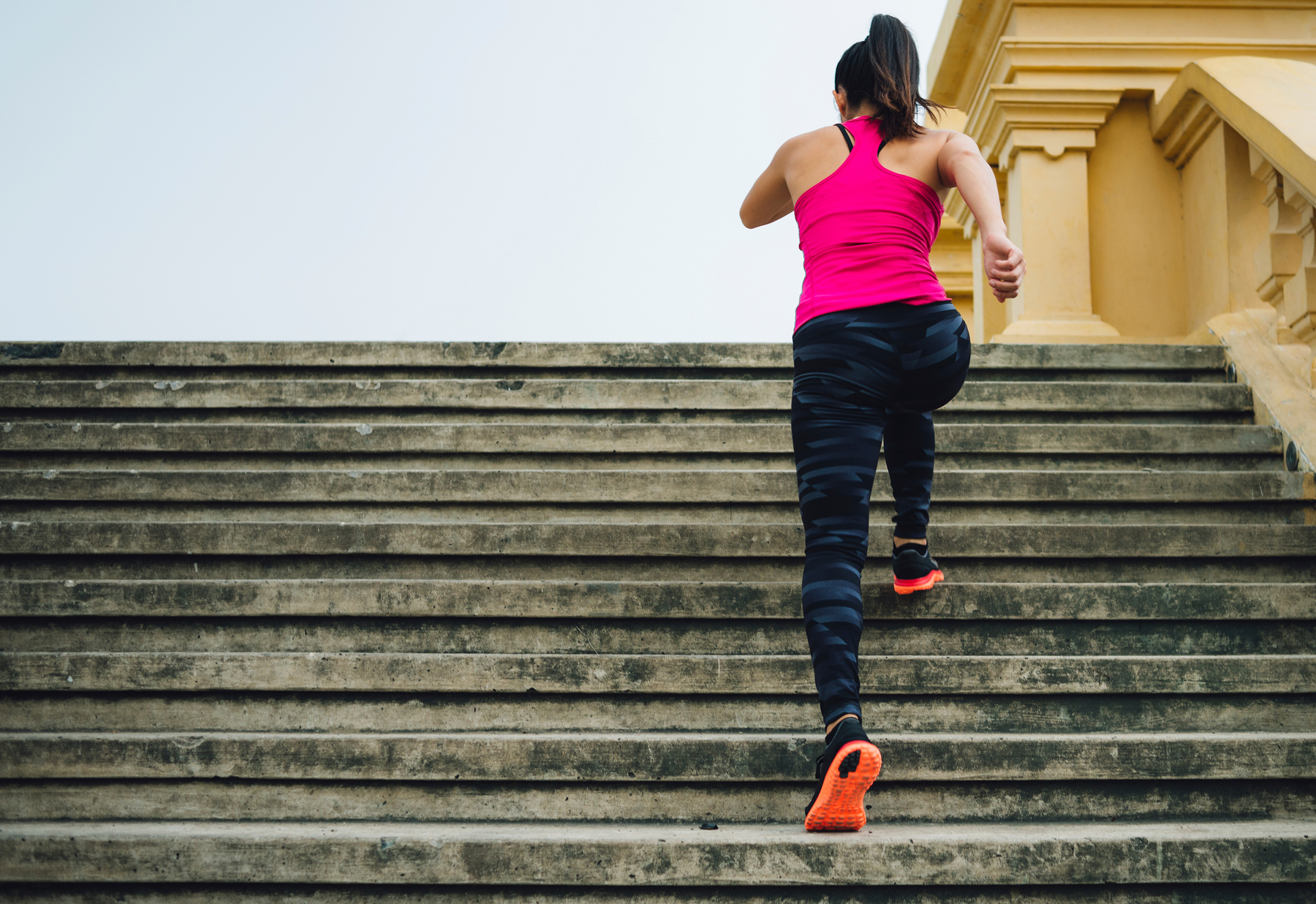 Go for Step-Ups- Climbing Stairs