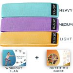NYX Fitness Fabric Resistance Bands