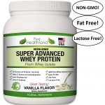 Pure Healthland Fat Free Best Tasting Whey Protein Isolate Powder