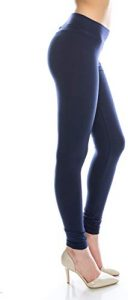 EttelLut Cotton Spandex Basic Leggings