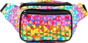 SoJourner Holographic Rave Bum Bag